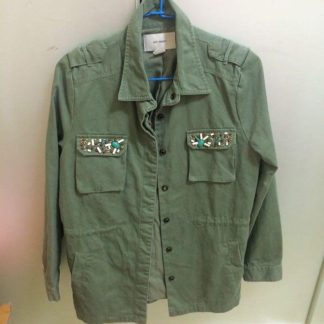 降價~50%淺綠色外套