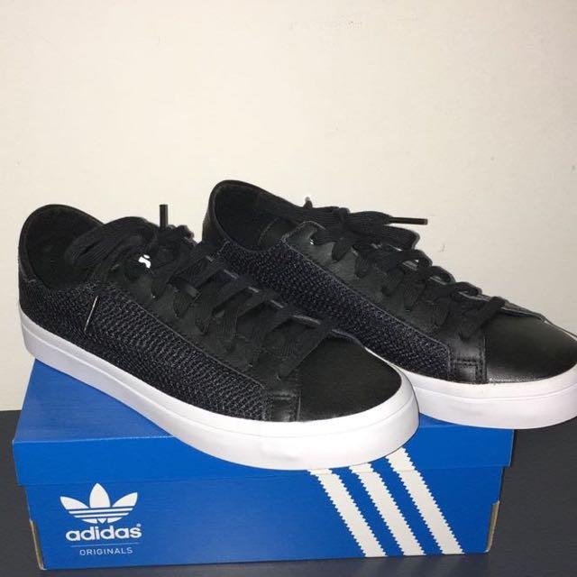 Adidas CourtVantage Core Black/White