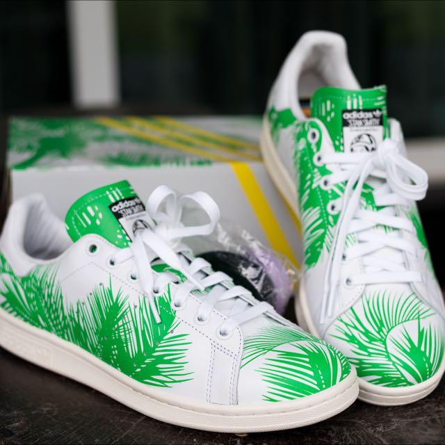 cb335dc18d6de Adidas Stan Smith X Pharrell X BBC Palm Tree