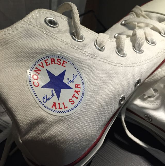 ALL STARS HIGH OPTIC WHITE CONVERSE