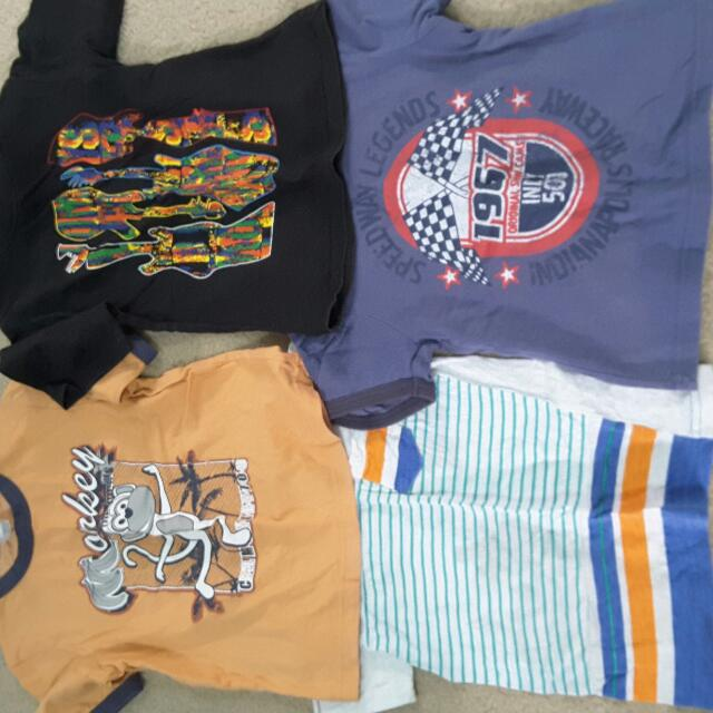 Assortment of Boy Clothes Size 2-3