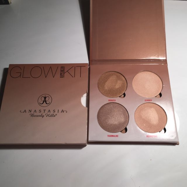 Authentic Anastasia Beverly Hills Glow Kit In Sun Dipped