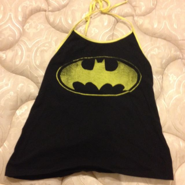 Batman Crop Top