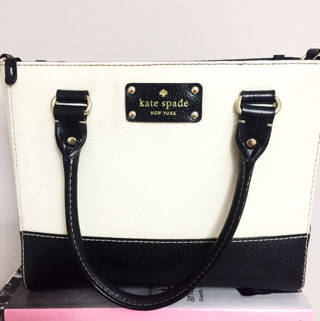 Black And White Kate Spade Tote ♠️♥️