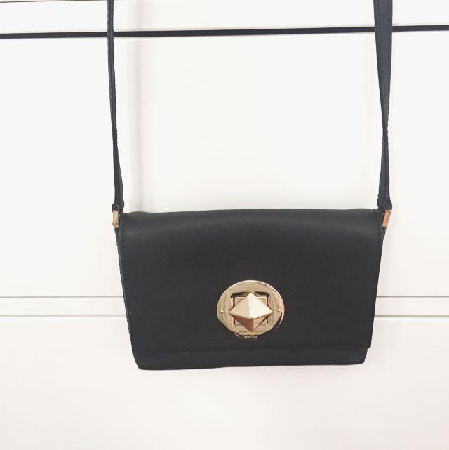 Black Kate Spade Shoulder Bag ♠️