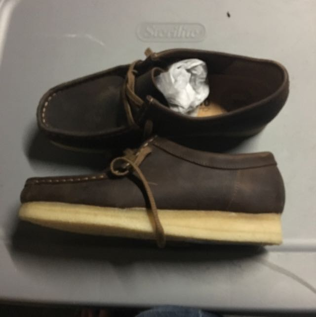 Brand New Brown Leather Clarks