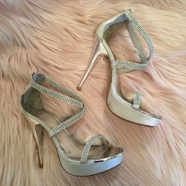 Escapade Camelot Stiletto High Heels