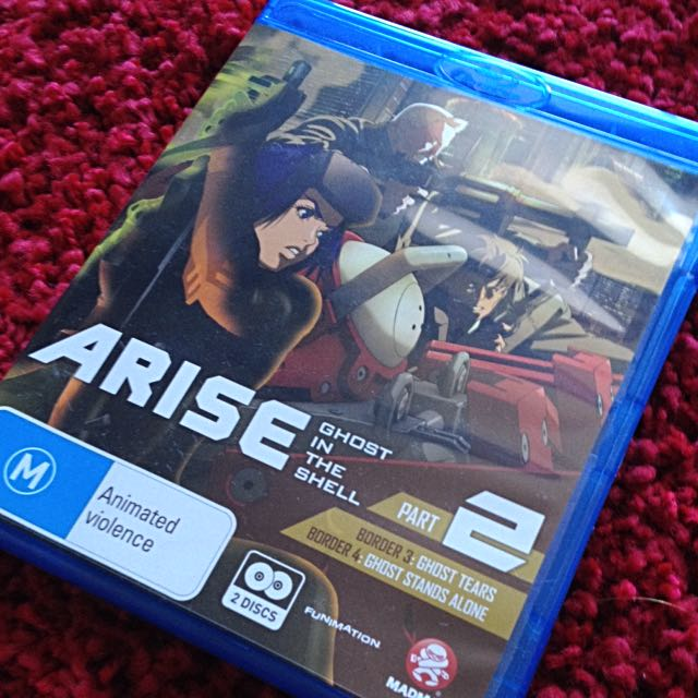 Ghost In The Shell: Arise Part 2