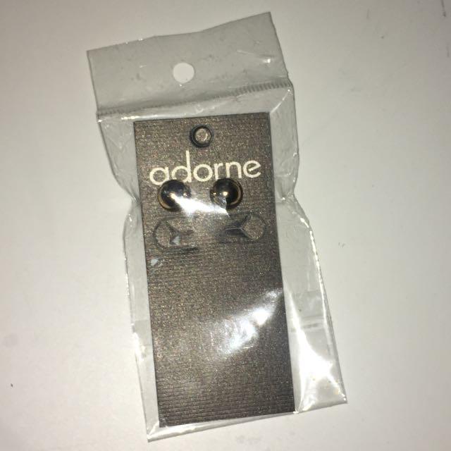 Gold Adorne Me Earrings