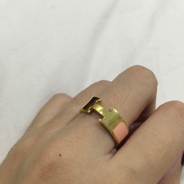 Hermes KW Pink Ring