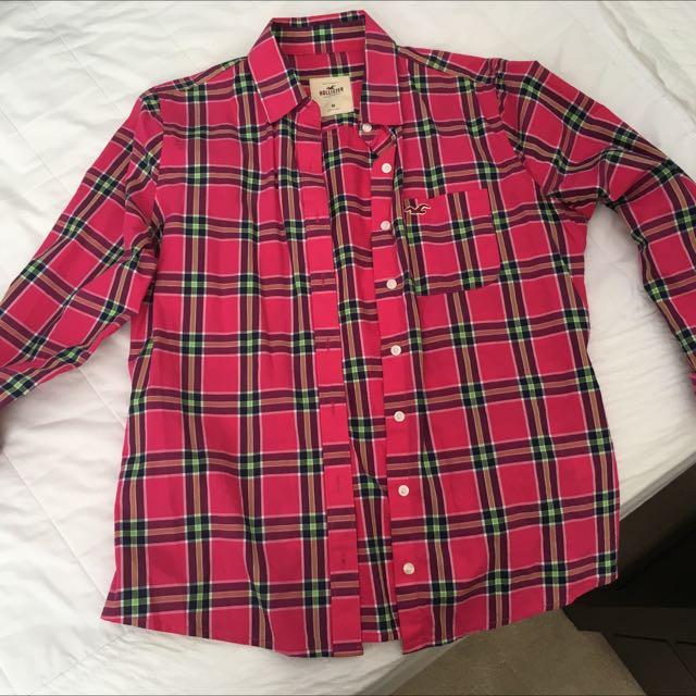Hollister Button-up Shirt M