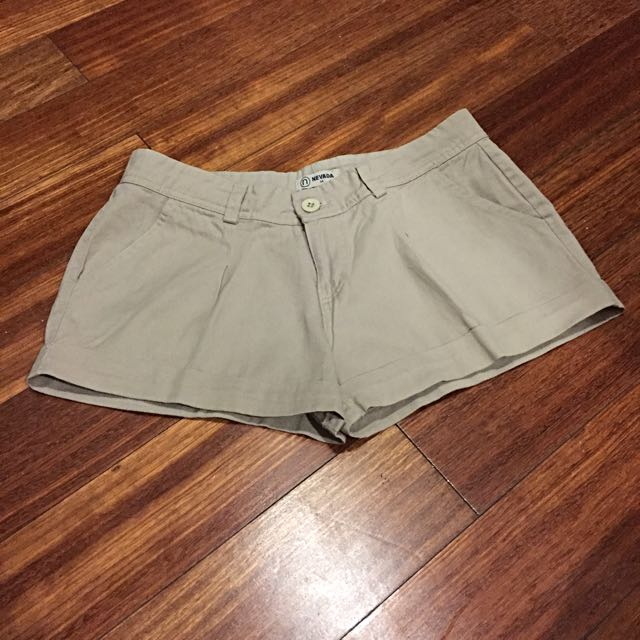 Hot Pants Khaki