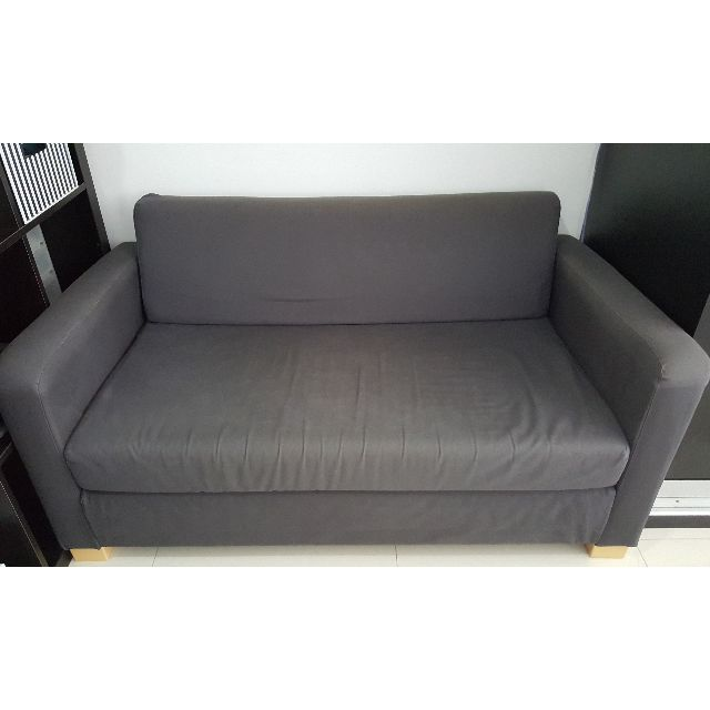 Groovy Ikea Solsta Two Seat Sofa Bed Furniture On Carousell Squirreltailoven Fun Painted Chair Ideas Images Squirreltailovenorg