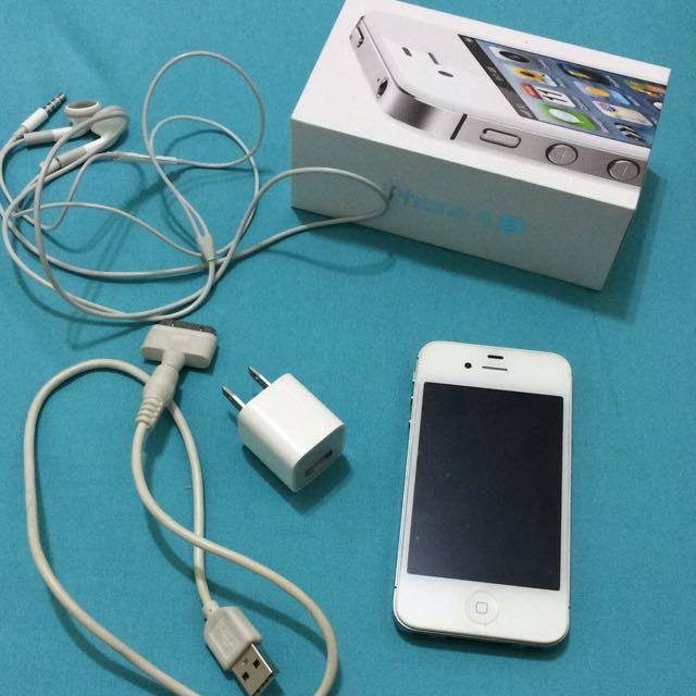 iphone4s白色16g