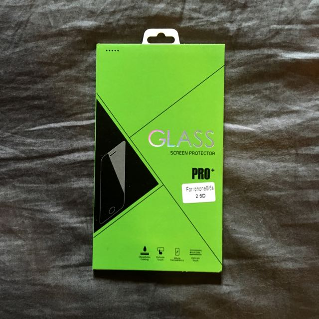 [送傳輸線]iphone6/6s 防氣泡防油保護貼
