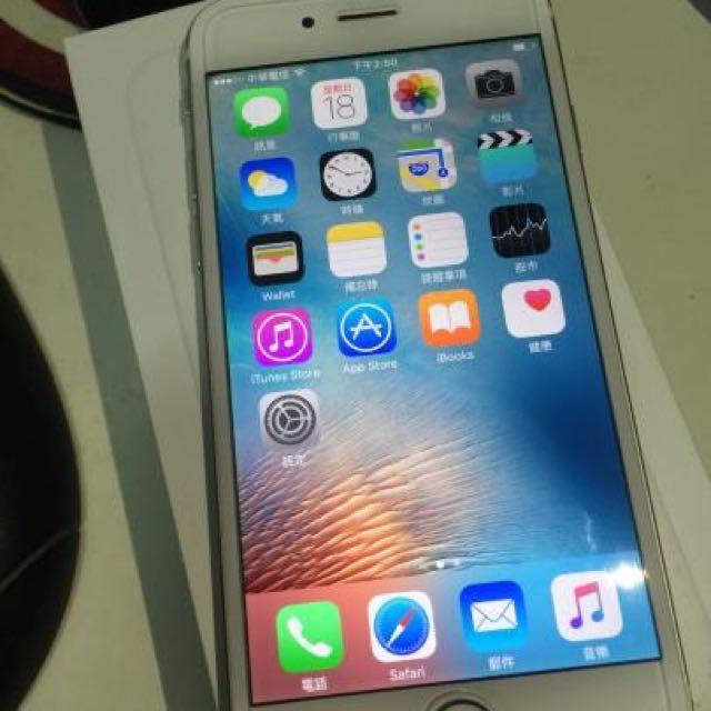 iPhone6 64G 金色 盒裝