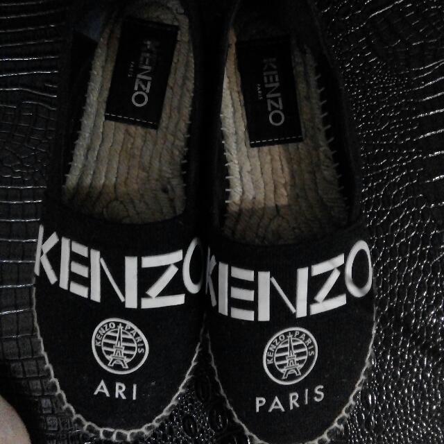 kenzo espardilles shoes sz 37