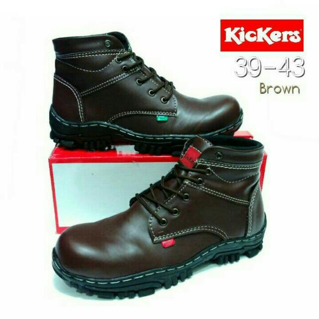 Kickers Boot Safety (dengan Besi)