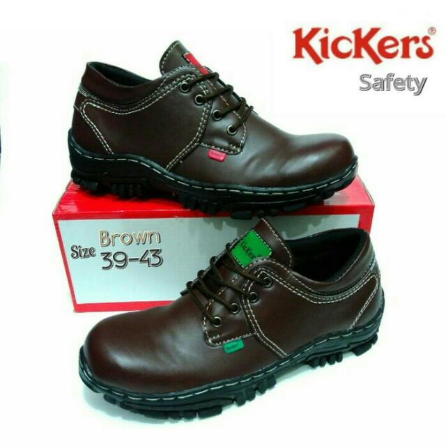 Kickers Safety Shoes (dengan Besi)