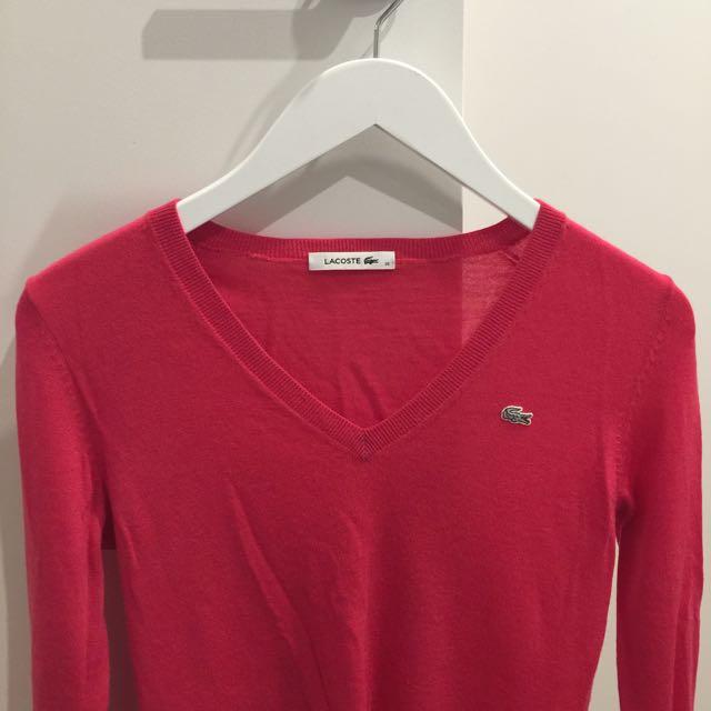 Lacoste Long Sleeve Merino Wool US 6