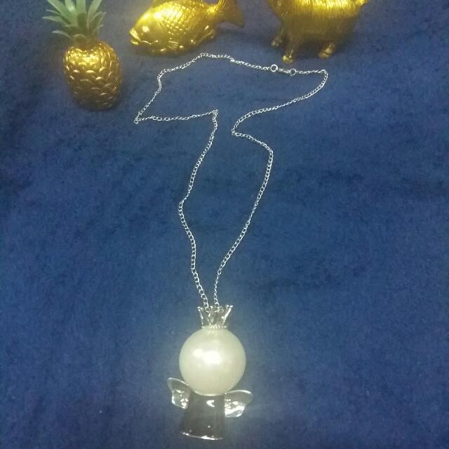 long drop necklace