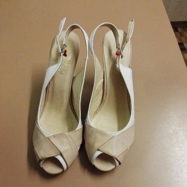 Marley, White/Beige Size 41 Shoes