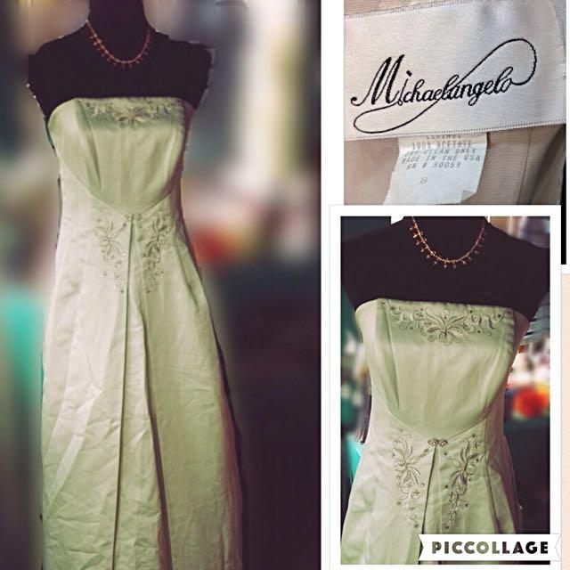 Michaelangelo Long Formal Dress