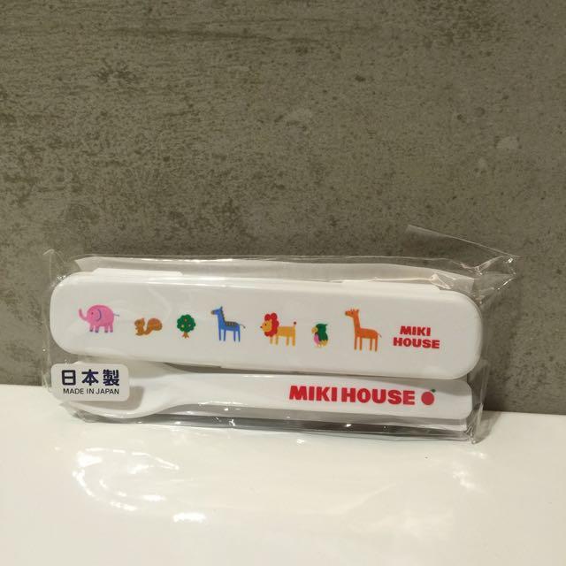 日本Mikihouse副食品湯匙