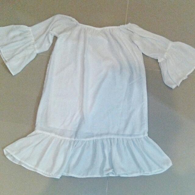 Off Shoulder Dainty Dress