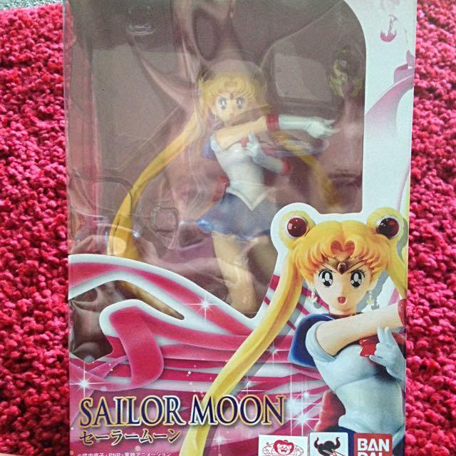 Official Sailor Moon Japanese Tamashii Nations Figuarts Zero Model