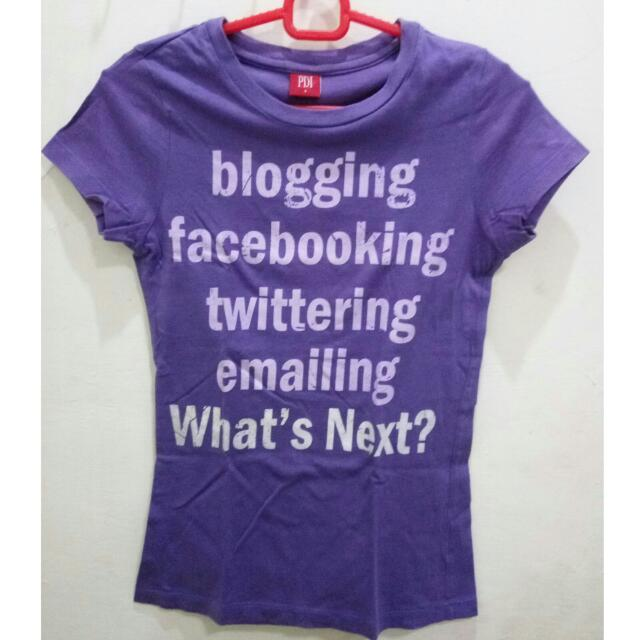 Paddini Purple T-shirt