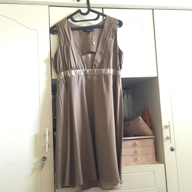 Preloved Bronze Dress