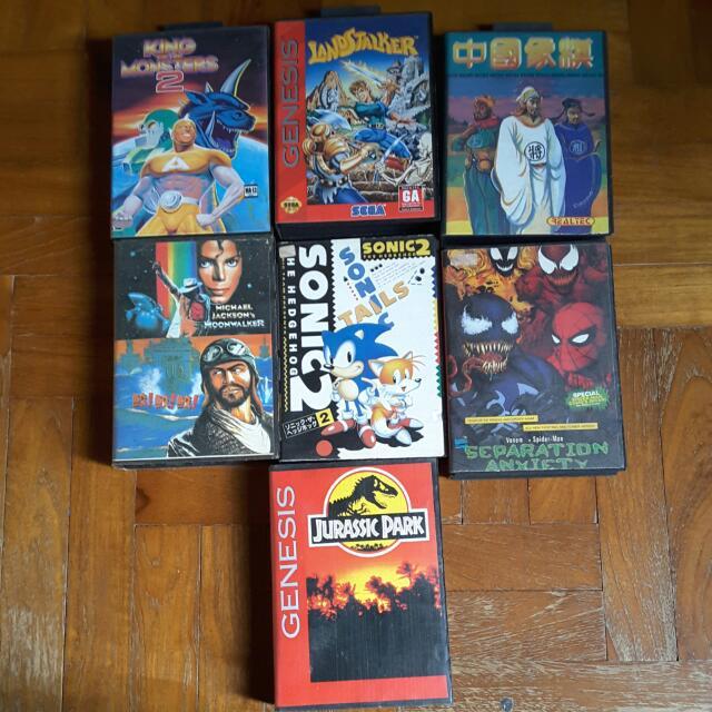 Pre-owned Sega Mega Drive And Genesis Cartridges (Updated