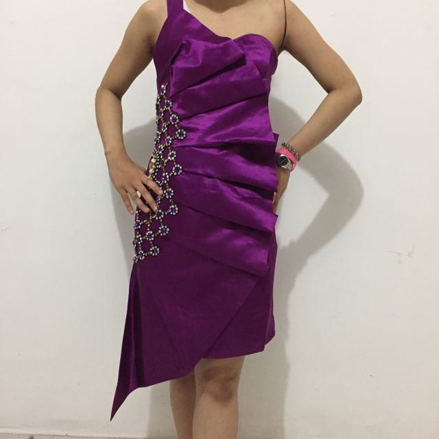 Purple Blink Dress