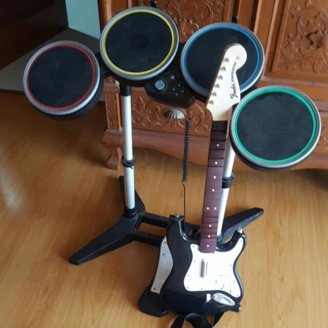 (On HOLD) Rock Band 4 Full Set - Ps4