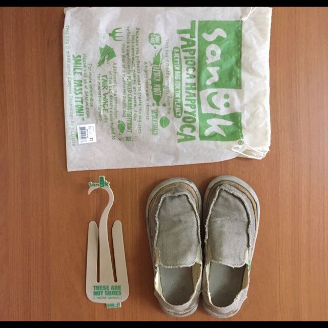 Sanuk 編織懶人鞋