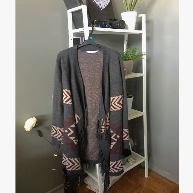 Scarf Fall Sweater