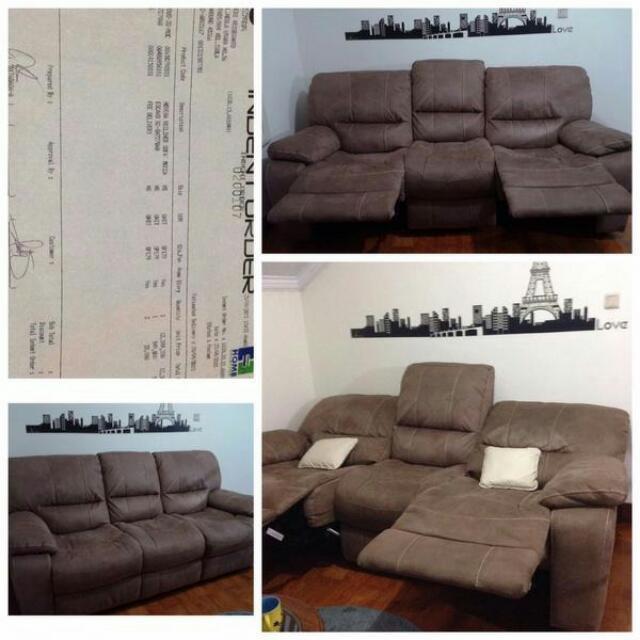Sofa reclining brand Novena (Singapore)