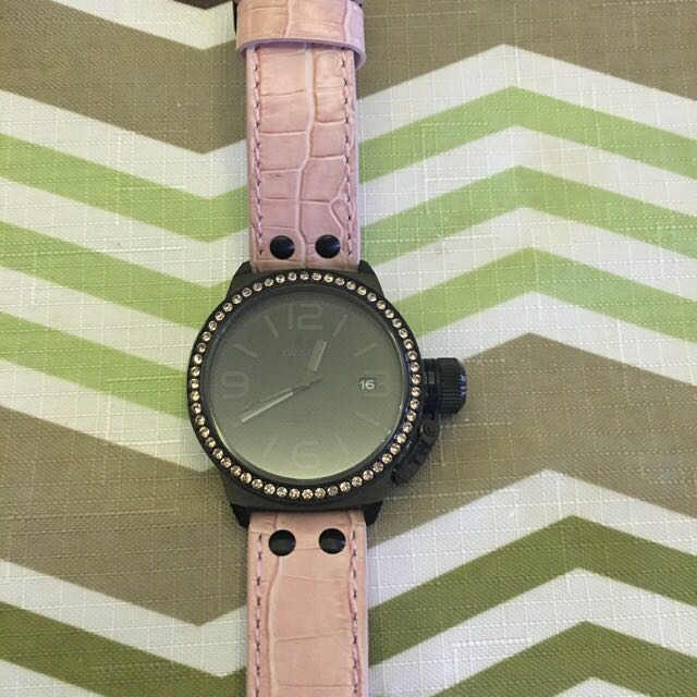 Tw Steel Canteen Watch pink