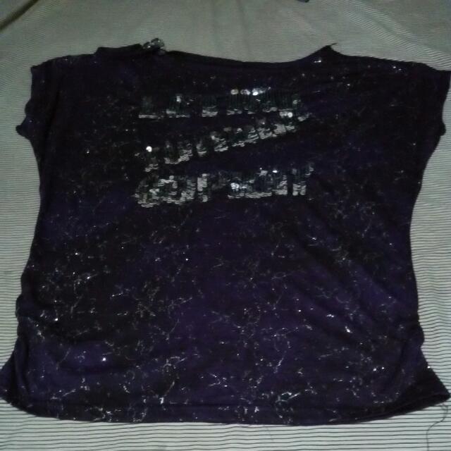 Violet Loose Top