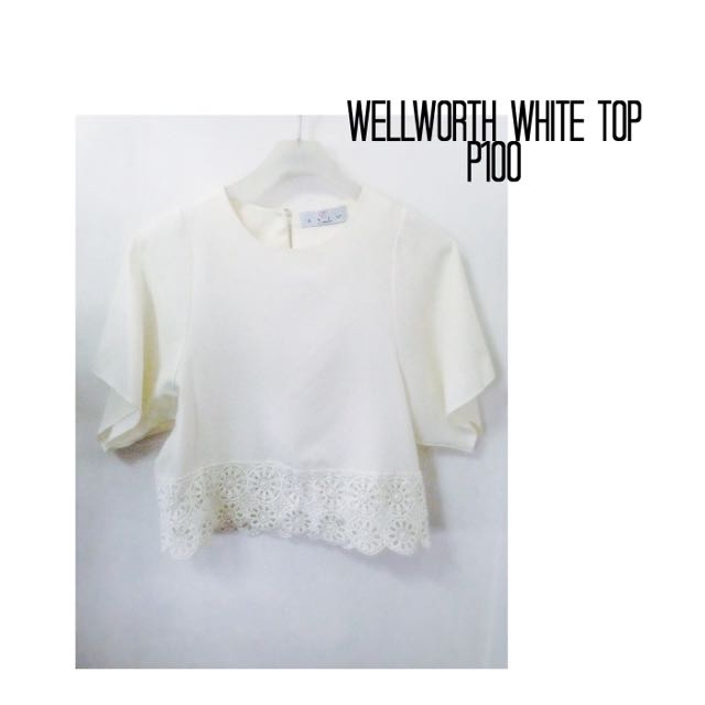 Wellworth White Top