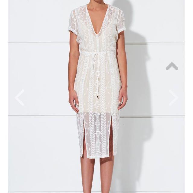 Winona Size 6 IRIS 3/4 DRESS WH