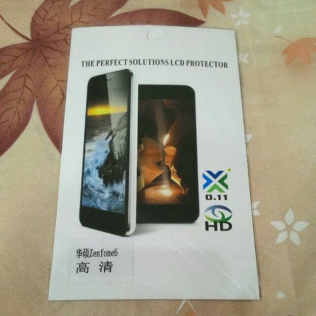 Zenfone 6 螢幕 高清保護貼 (保護膜.螢幕貼)