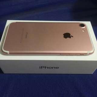 售 ◤ iPhone 7 128G 玫瑰金 ◥