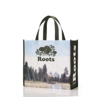 Roots防水購物袋(大)