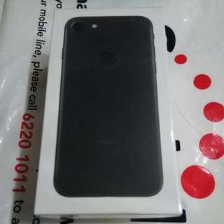 (New, Sealed) iPhone 7 Matte Black 128GB