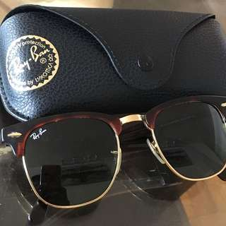 Authentic RayBan Club Master