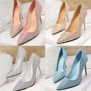 Womens Fashion Bling Shoes