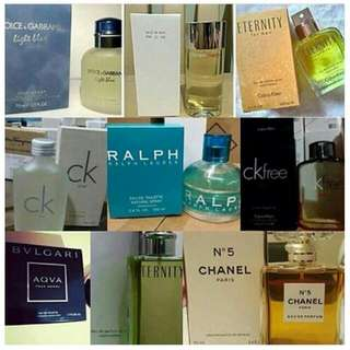 "Authentic Dubai Perfumes ""US TESTERS IN MALLS"""