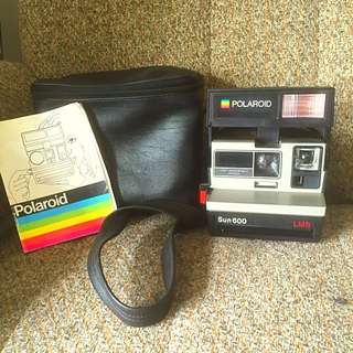 POLAROID Land Camera 600 Vintage